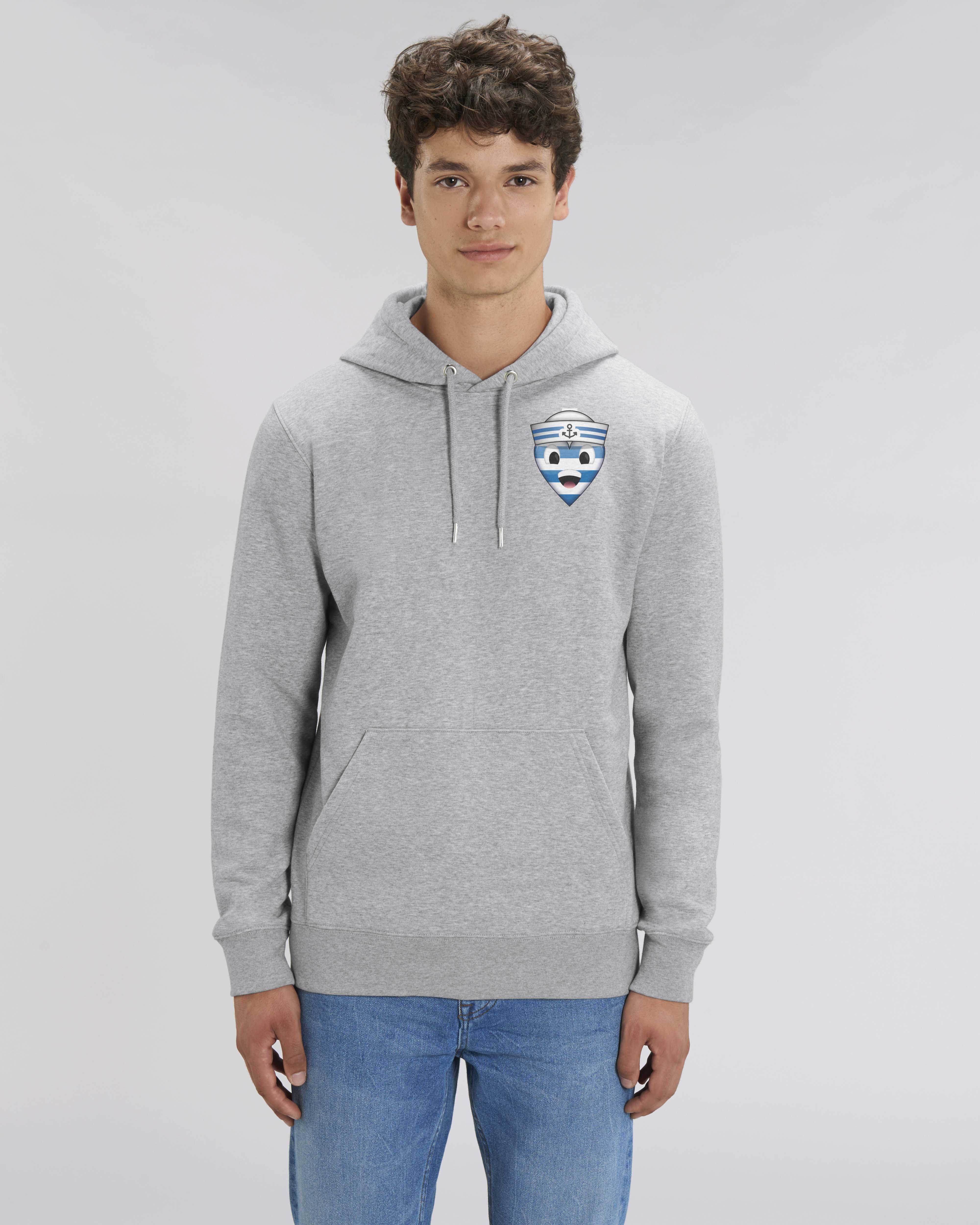 Sweat shirt à Capuche gris - navy hoodie