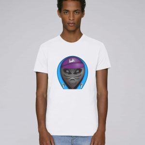 T-Shirt Bio Blanc Homme - Ovni tee
