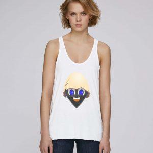 T-Shirt Bio blanc Femme – Egg tank