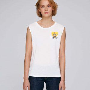 T-Shirt Bio blanc Femme – Eiffel tee