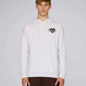 T-Shirt Bio blanc Homme – Universe hoodie