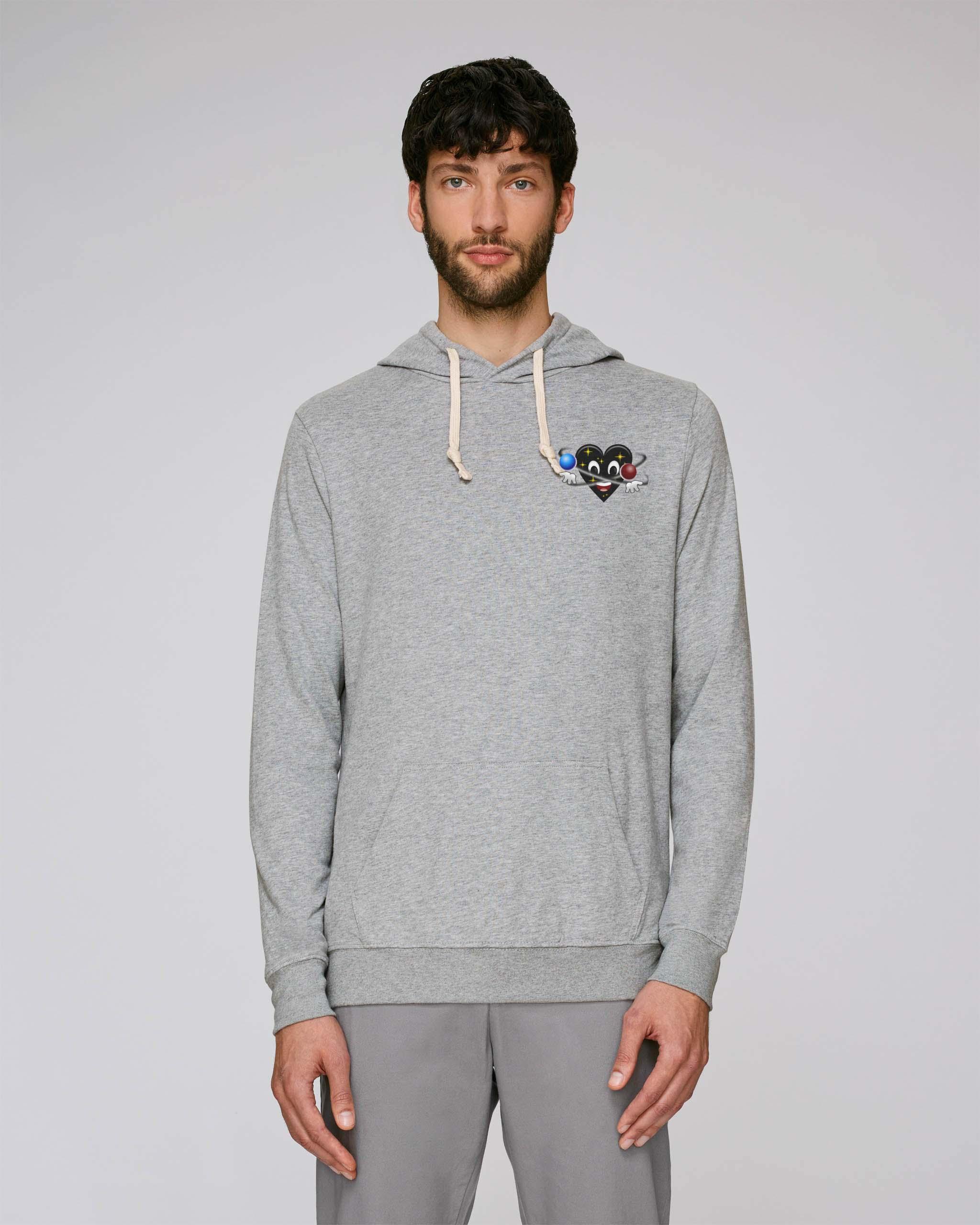 T-Shirt Bio gris Homme – Universe hoodie