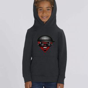 T-Shirt Bio noir Enfant - Thuglife tee