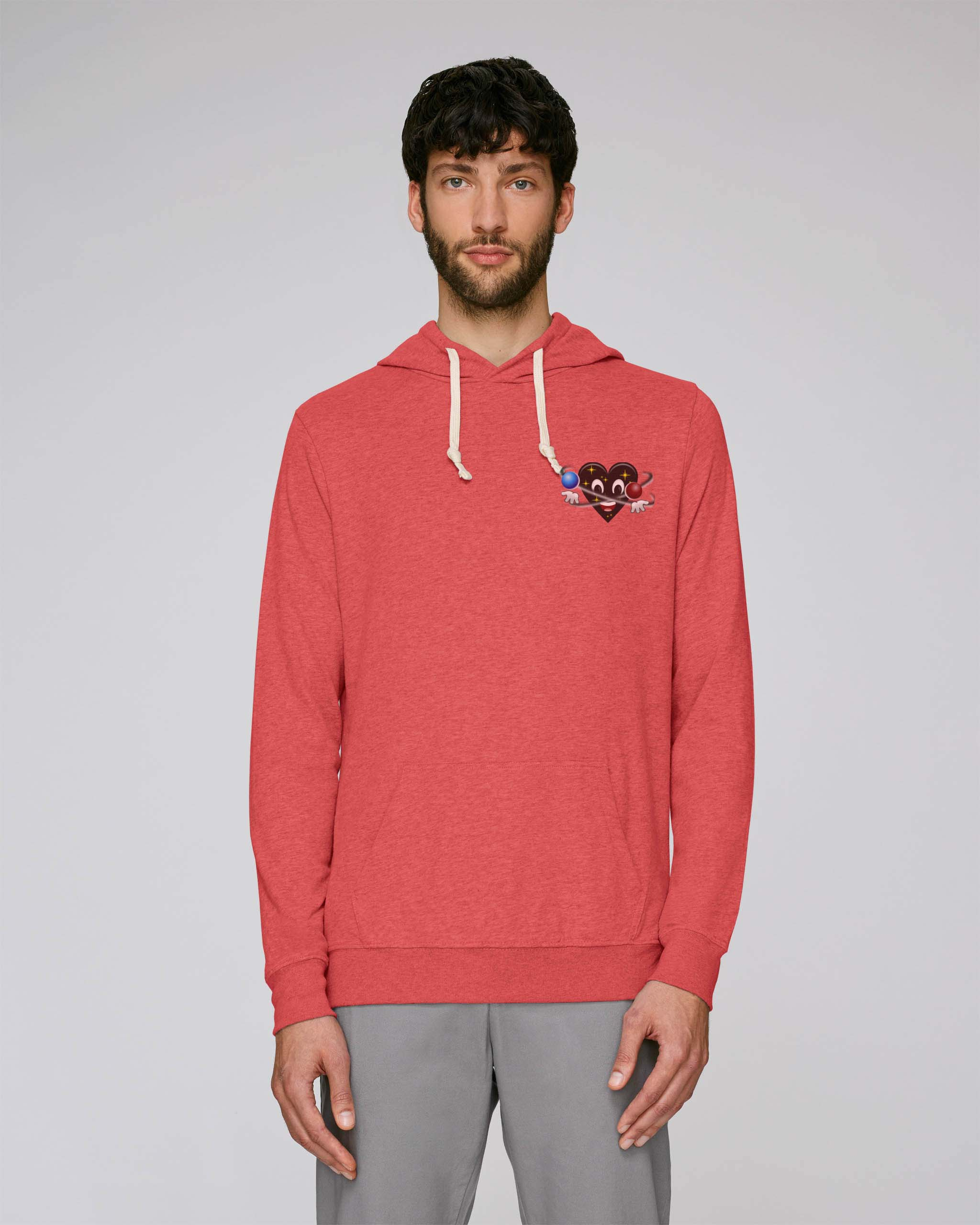 T-Shirt Bio rouge Homme – Universe hoodie