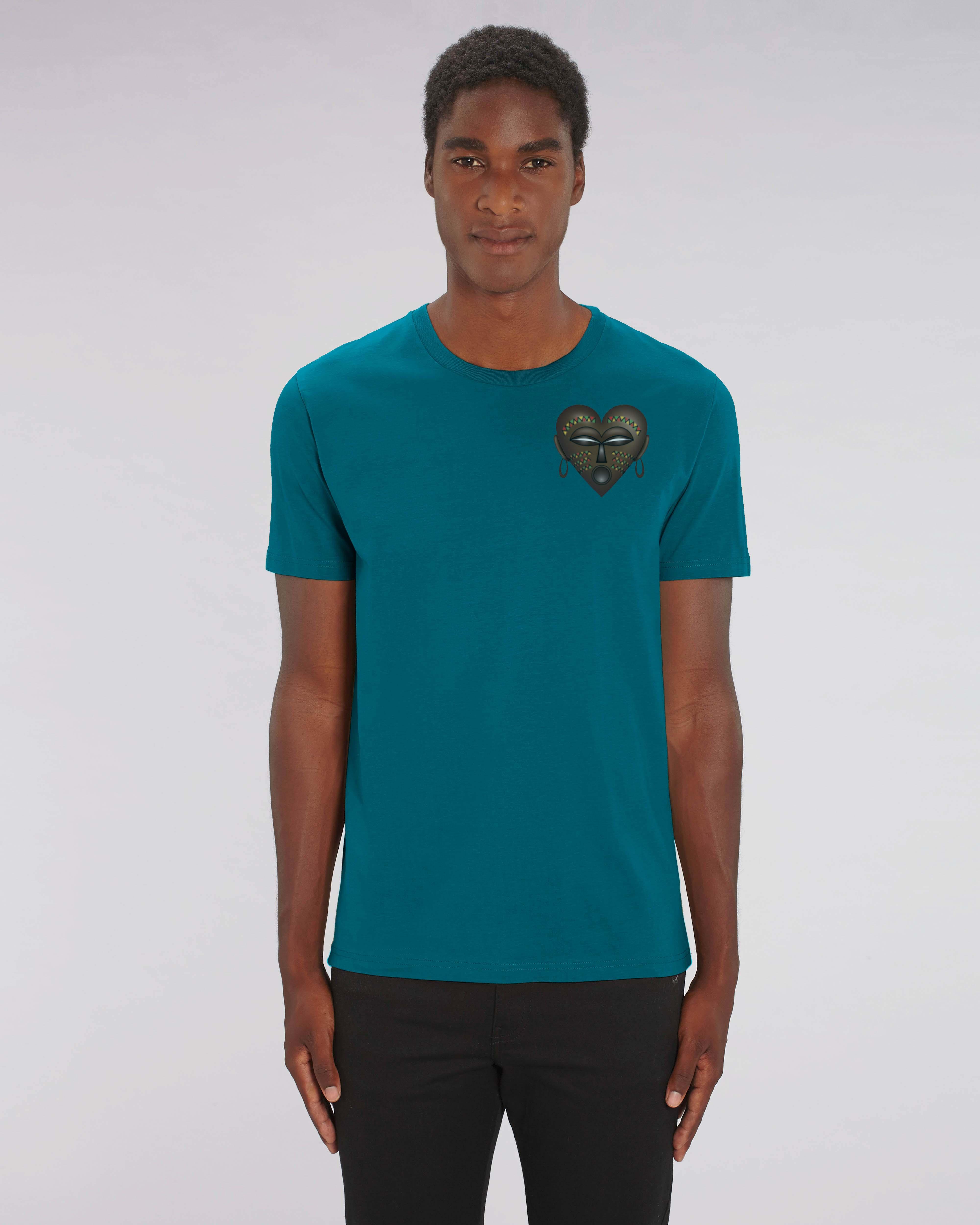 T-shirt Vert Bio Homme - African Tee