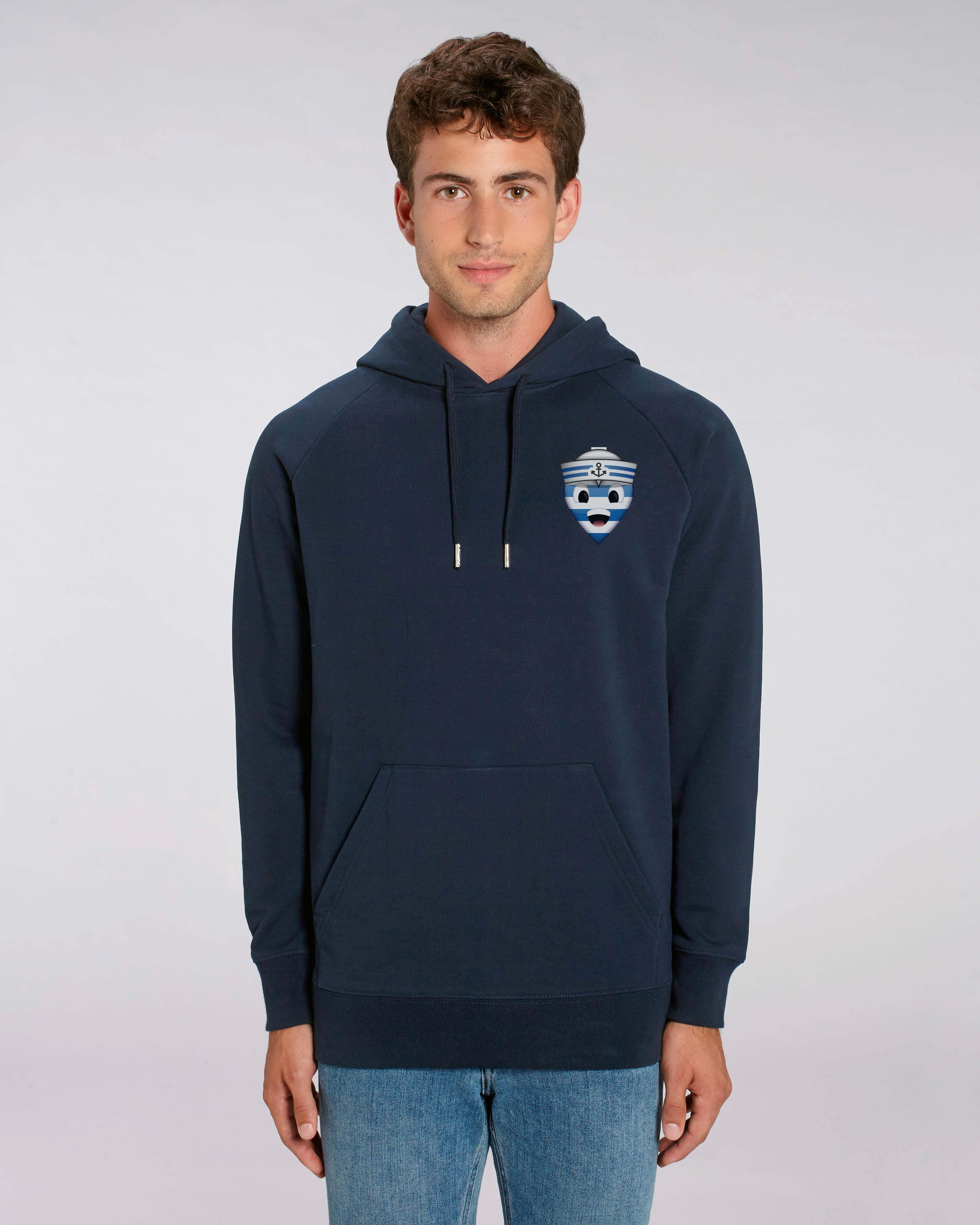 Sweat shirt à Capuche bleu foncé homme - navy hoodie