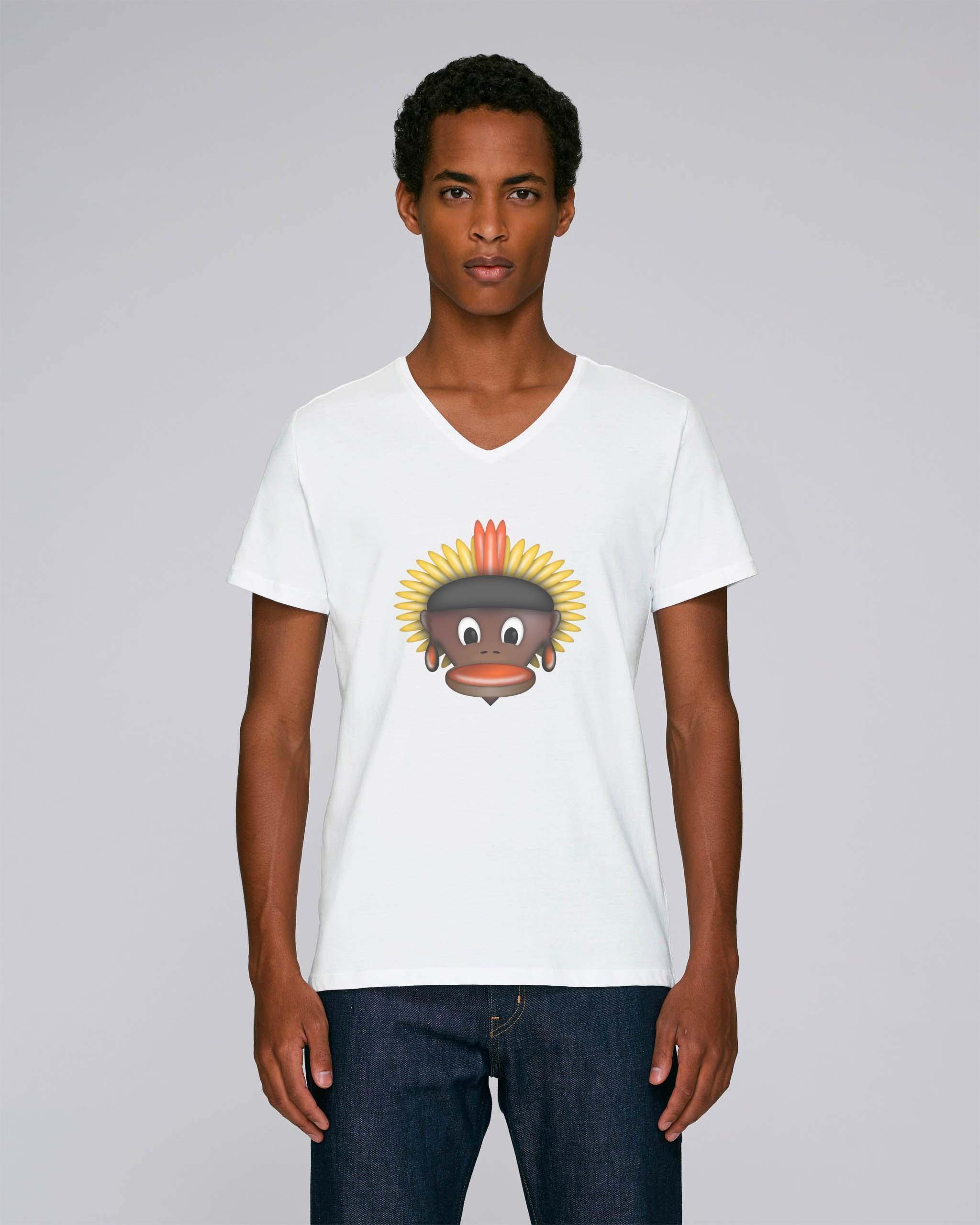 T-Shirt Blanc Bio Homme - Tribe tee