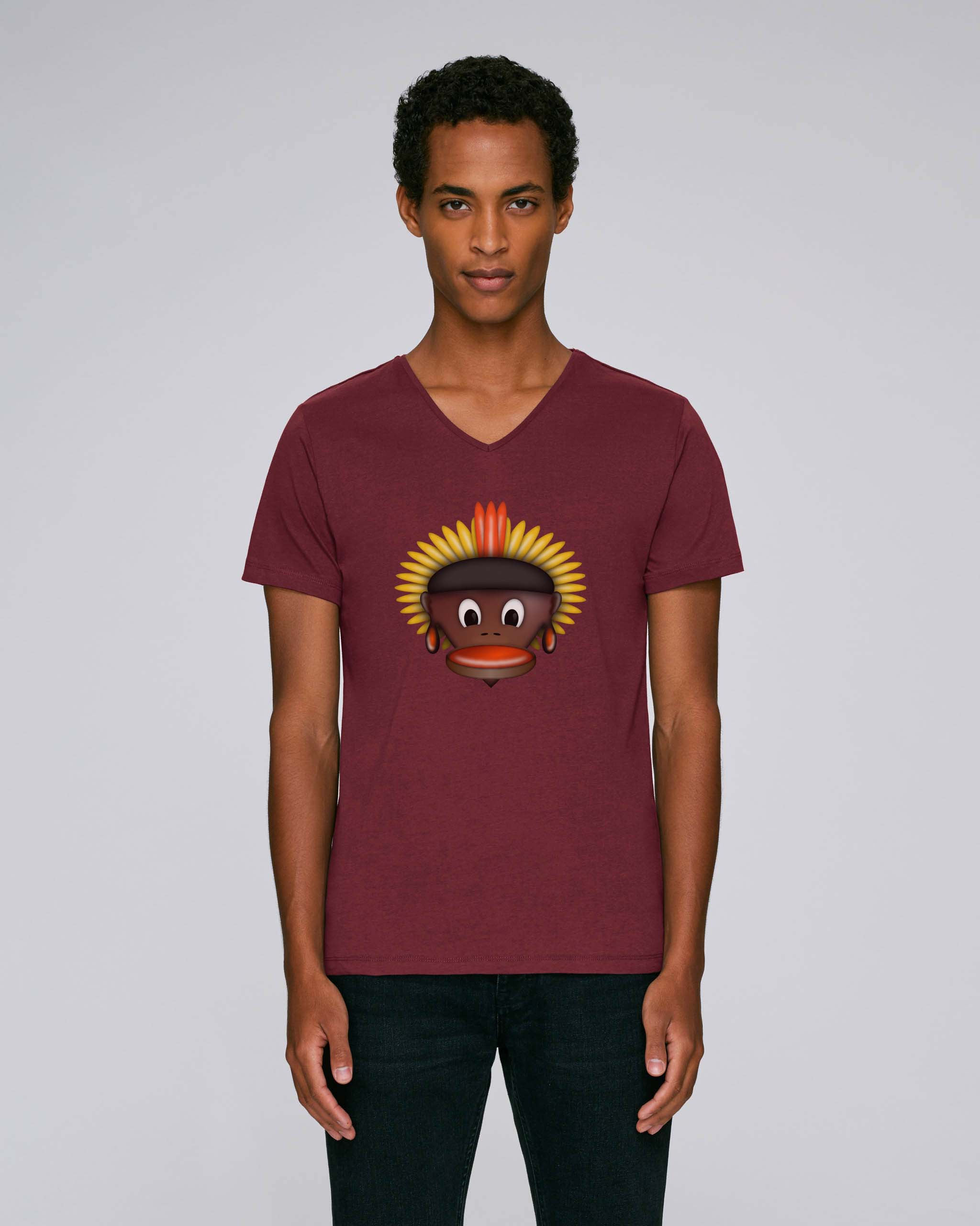T-Shirt Bordeaux Bio Homme - Tribe tee